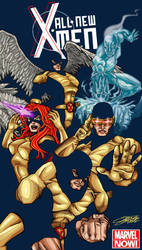 All New X-MEN by VAXION
