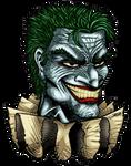 Commish: JOKER'S Head Logo by VAXION