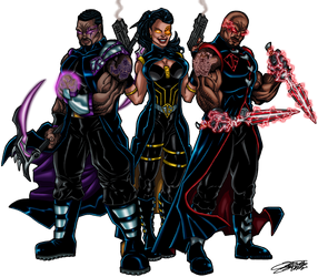 Commish: PROPHETIC PRIESTS by VAXION