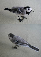 Felted wagtail by Amadare90
