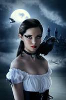 Raven lady by Amaranta-G
