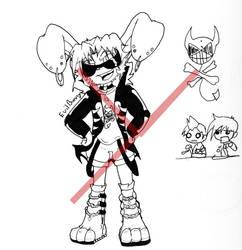 Evil Bunny by Bunnygirle26