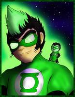 Pat the Green Lantern by Bunnygirle26