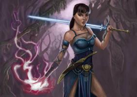 Sorceress by KaylaWoodside