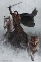 Robb Stark by KaylaWoodside