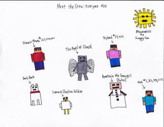 Meet The Crew: Everyone Else by wackywert
