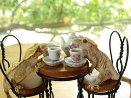 Tea Party Conversation -Lumina by styx-leagon