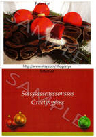 Ball Python Holiday Cards by styx-leagon