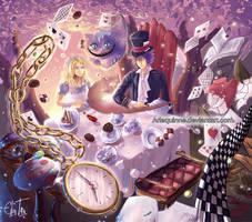 Alice in Wonderland by ElinTan