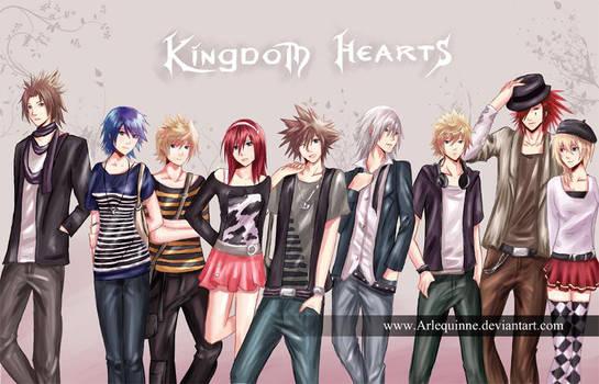 Kingdom Hearts compilation by ElinTan