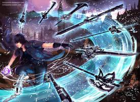 Final Fantasy XV - Noctis by ElinTan