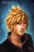 Cloud Strife - Final Fantasy VII by ElinTan