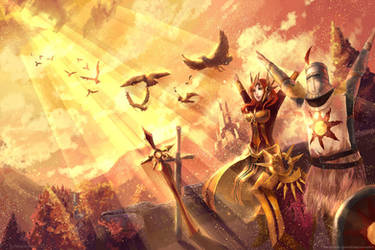 Warriors of the sun by ElinTan