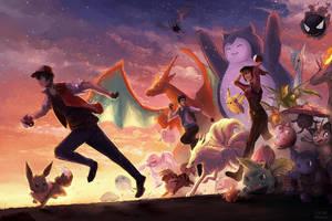 Pokemon Go by ElinTan