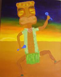 Tiki Man by befearless247