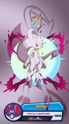 Mega Mewtwo Card by lucario-strike