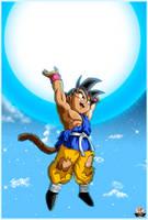 Goku Gt Ultimate Genkidama by lucario-strike