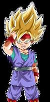 Goku JR GT by lucario-strike