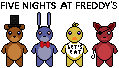 Five Nights At Freddy's (FNAF) {stamp by Silvertail108