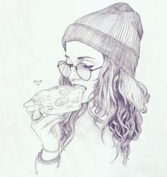 Pizza by prinsepolo