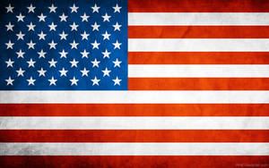 USA Grungy Flag by think0
