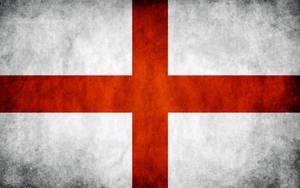 England Grunge Flag by think0