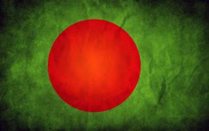 Bangladesh Grunge Flag by think0