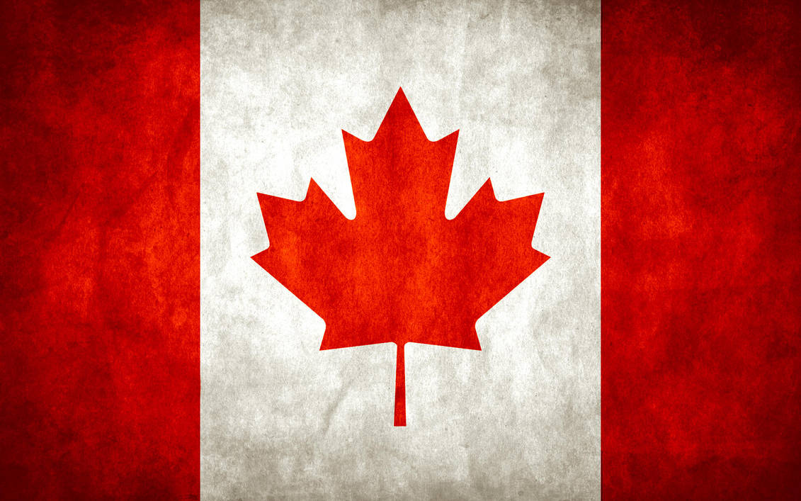 Canada Grungy Flag by think0