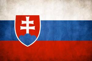 Slovakia Grungy Flag by think0