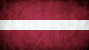 Latvia Grunge Flag by think0