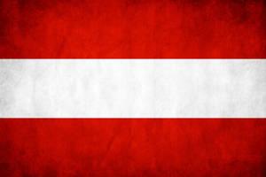 Austria Grunge Flag by think0