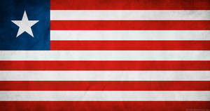 Liberia Flag Grunge by think0