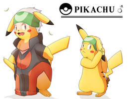 Shok'em (Pikachu TF) by Alsa-R