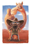 The Camel Farmer by MrTristan