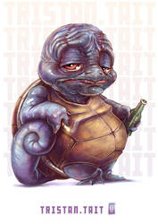 Squirtle by MrTristan