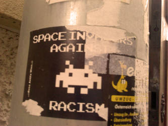 Against racism by Zas-Man