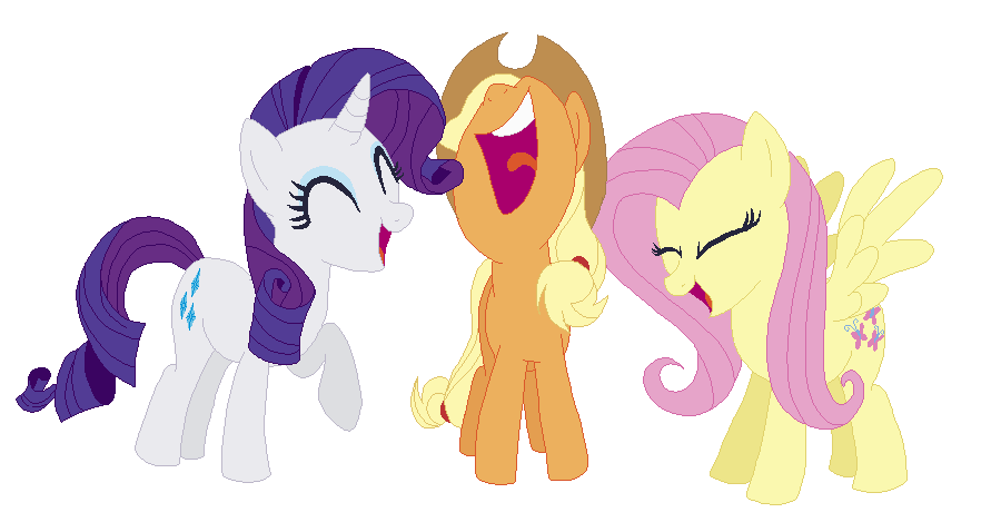 Laughing Ponies By Espiofangirl7 On Deviantart