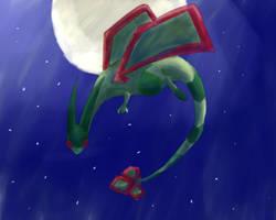 9# Draw your fav 3rd gen pkmn : Flygon by Bapazu