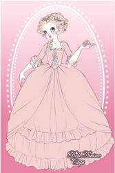 Marie Antoinette Pink Dress :3 by Yandere-ChanKawaii13
