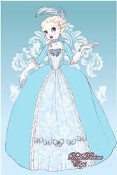 Elsa Frozen Rococo Style 2 by Yandere-ChanKawaii13