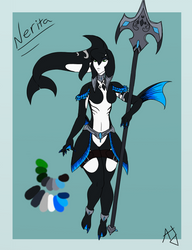 Nerita Redesign by alice-the-dragon