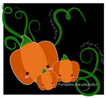 Pumpkins are Peaceful by muddypuddles