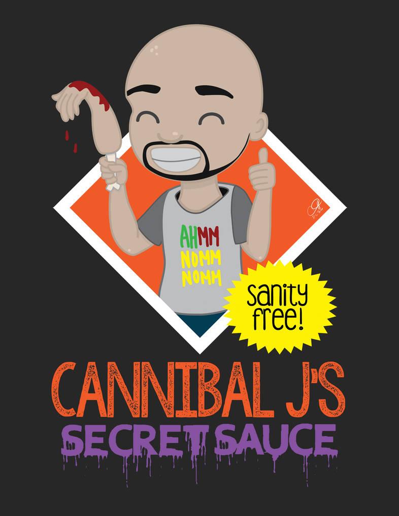 Cannibal Js Secret Sauce by muddypuddles