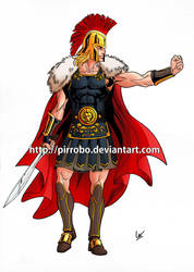 Alexander Concept colored by pirrobo