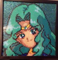Sailor Neptune Perler Bead Design by Amber--Lynn