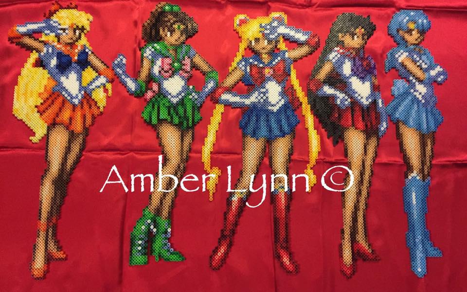 Inner Sailor Scouts Perler Bead Design by Amber--Lynn