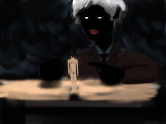 The dark Teacher of Victrix by Parady