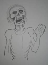 DO zombies eat hotdogs? by rachelled