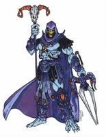 Skeletor - MOTU (2002) by CJEdwardsArt
