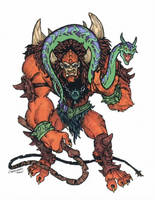 Beast Man - MOTU (2003) by CJEdwardsArt